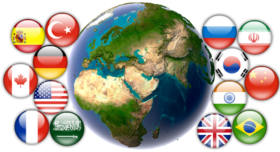 ترجمه زبان های مختلف در میرپارس